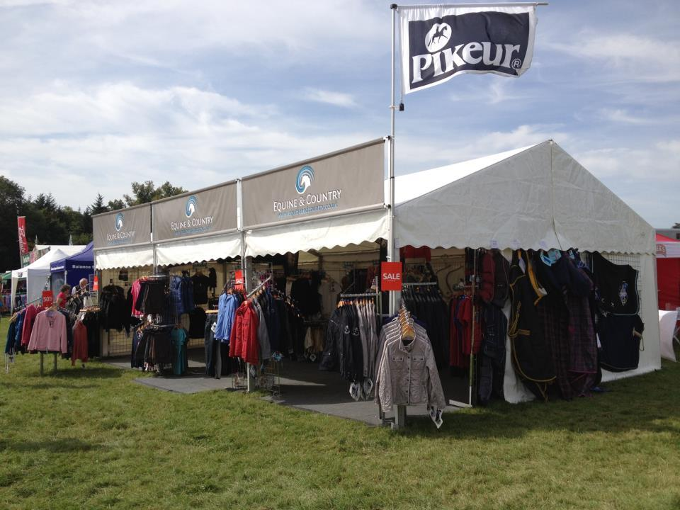 Trade Stands Burghley Horse Trials : Trade shows pikeur